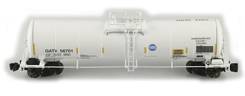 AZL 90508-1 - 23000 Funnel Flow Tank Car Set GATX 4 pack
