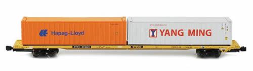 AZL 91101-3 - 89 Intermodal Flat Car