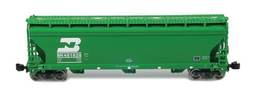 AZL 91302-1 - ACF 3-Bay Hopper Single BN
