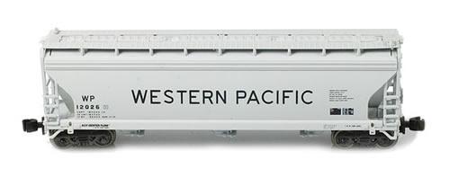 AZL 91304-1 - ACF 3-Bay Hopper Single Western Pacific