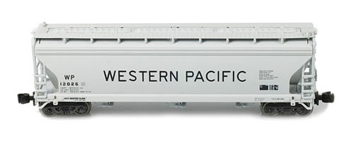 AZL 91304-1 - ACF 3-Bay Hopper Single Western Pacific