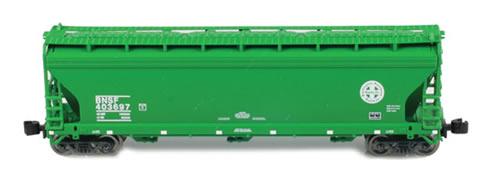 AZL 91305-2 - ACF 3-Bay Hopper Single BNSF
