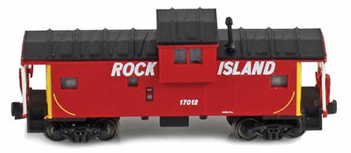 AZL 921004-2 - Rock Island Wide vision caboose 17013