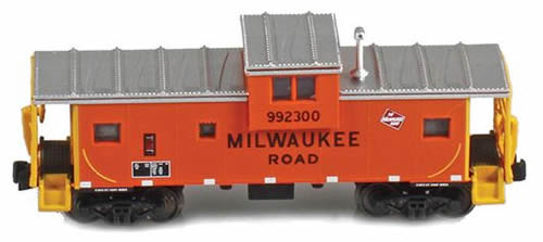 AZL 921008-1 - Milwaukee Road Wide vision caboose 992300