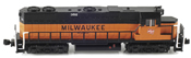 Milwaukee Road EMD GP38-2 Diesel Locomotive