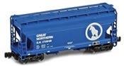 ACF 2-Bay Hopper Wagon 173922 of the GN