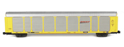 Tri Level Auto Rack Set BNSF 4 pack
