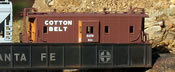 C-30-5 bay window caboose Single Cotton Belt