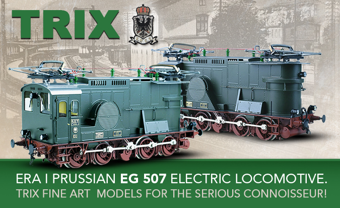 Era 1 Prussian EG 507 Electric Locomotive!