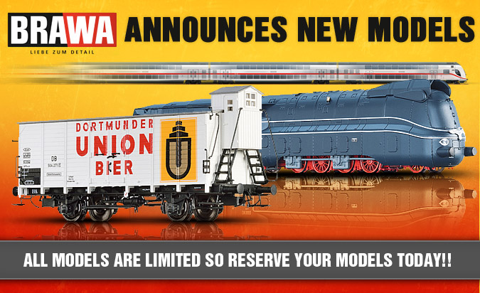 Brawa Model Trains 2013 Fall New Items