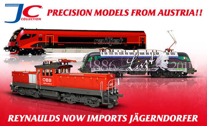 Jagerndorfer - precision models from Austria!