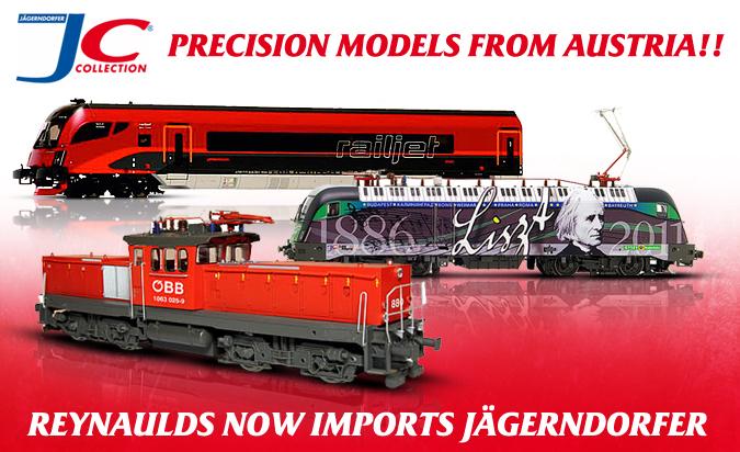 Jagerndorfer - precision models from Austria!