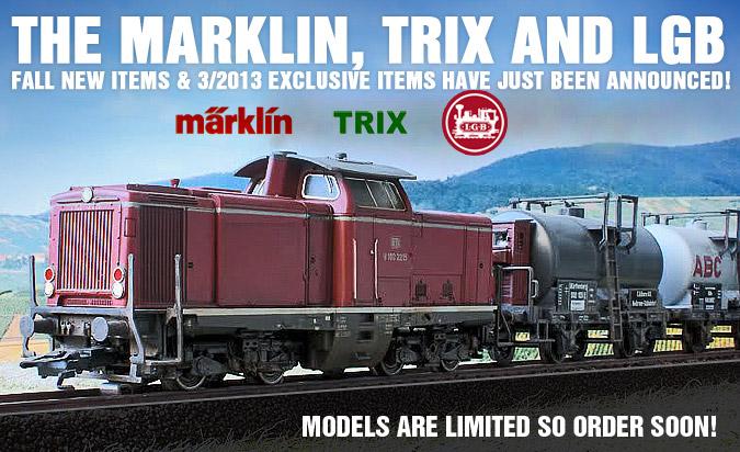 Marklin 2013 Fall New Items