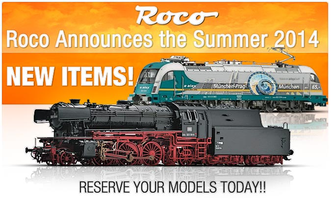 Roco summer items now posted!