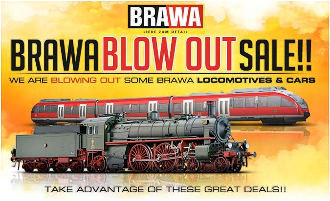 Brawa Factory Blow Out Sale
