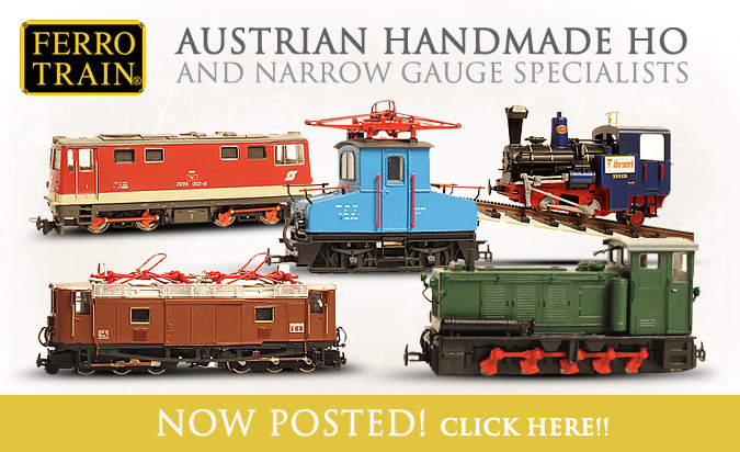 Ferro Train Items now posted!
