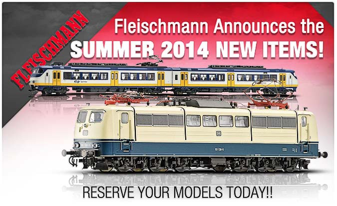 Fleischmann summer items now posted!