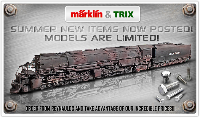 Marklin &Trix  Summer New Items Now Posted, models are Limited!!