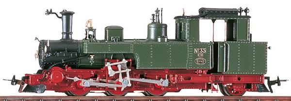 Bemo 1003815 - German Steam Locomotive No. 35 of the KSäStEB