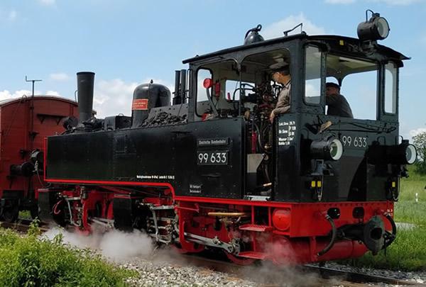 Bemo 1004816 - German Steam Locomotive Öchsle Tssd 99 633