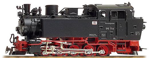 Bemo 1006893 - German Steam Locomotive BR 99 653 of the DR