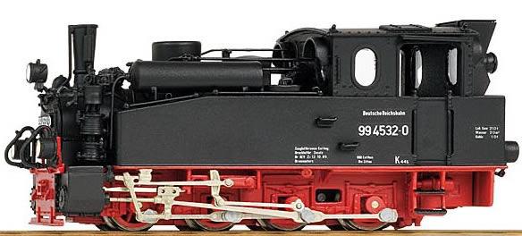 Bemo 1012812 - German Steam Locomotive BR 99 4532-0 of the DR
