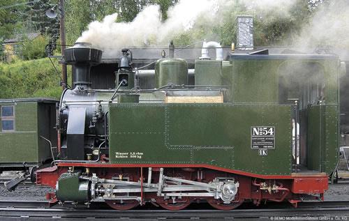 Bemo 1013803 - German Steam Locomotive sä. I-K No 30 of the K.Sä.Sts.B