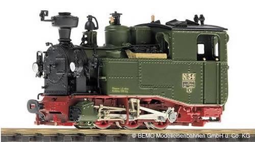 Bemo 1013804 - German Steam Locomotive sä. I-K No 54 of the K.Sä.Sts.B
