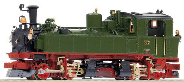 Bemo 1016807 - German Steam Lomomotive No. 107 of the K.Sä.Sts.B