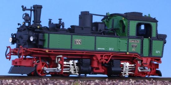 Bemo 1016892 - German Steam Locomotive  IVI-K No 132 of the K.Sä.Sts.B