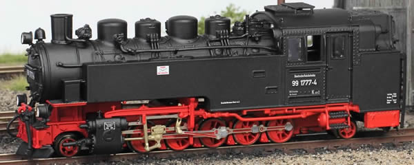 Bemo 1017891 - German Steam Locomotive BR 99 1777-4 of the DR