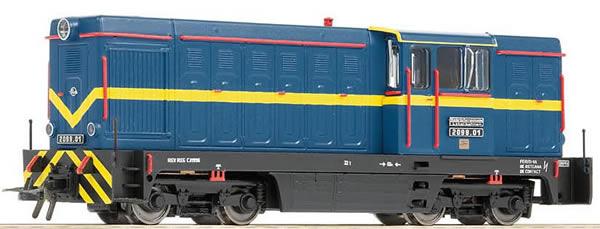 Bemo 1020951 - Czechoslovakian Diesel Locomotive 2099.01