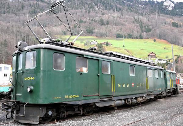 Bemo 1246432 - Swiss Electric Railcar  Deh 120 012 of the SBB
