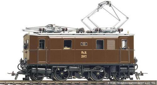 Bemo 1256115 - Swiss Electric Locomotive RhB Ge 2 / 4205 of the RHB