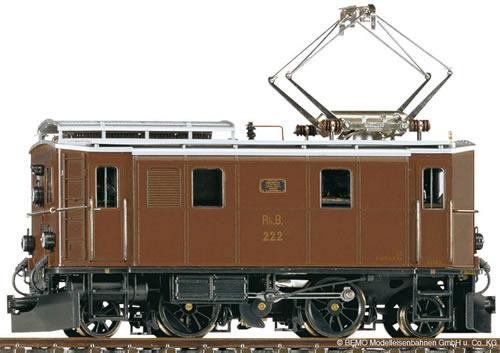 Bemo 1256132 - Swiss Electric Locomotive Ge 2/4 222 of the RHB