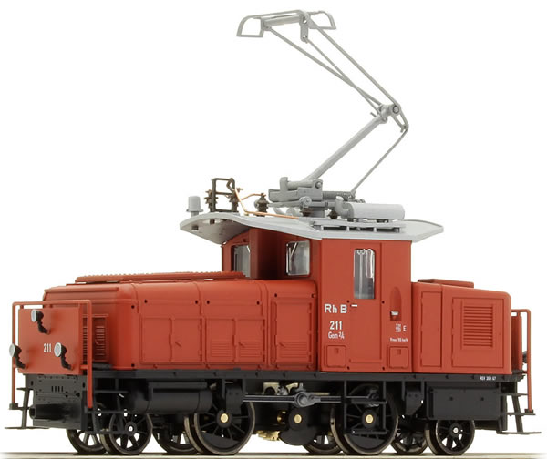 Bemo 1257111 - Swiss Electric Locomotive Gem 2/4 of the RHB