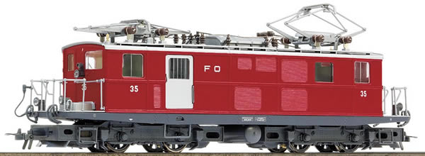 Bemo 1261205 - Swiss Electric Locomotive HGe 4/4 I 35 of the FO