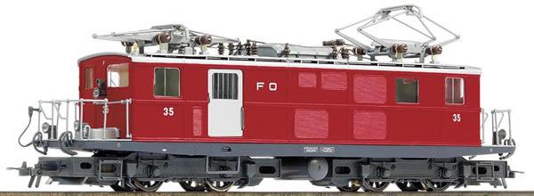 Bemo 1261205 - Swiss Electric Locomotive HGe 4/4 I 35 of the FO