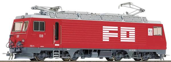 Bemo 1262218 - Swiss Electric Locomotive HGe 4/4 II 108 Nufenen