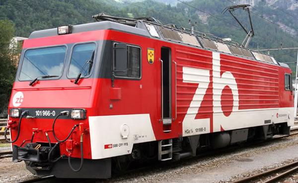 Bemo 1262476 - Swiss Electric Cograil Locomotive HGe 4/4 101 of the Zentralbahn Railway