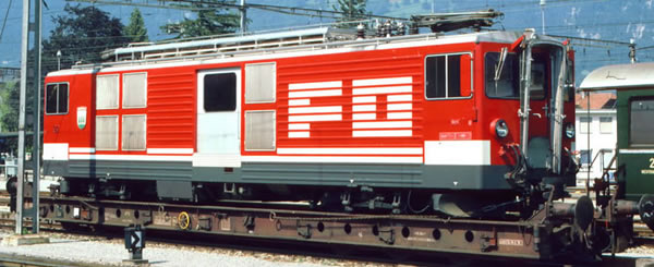 Bemo 1264213 - Swiss Electric Railcar Deh 4/4 93 of the FO