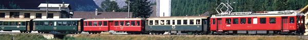 Bemo 1265113 - Swiss Electric Railcar ABe 4/4 503 of the RHB