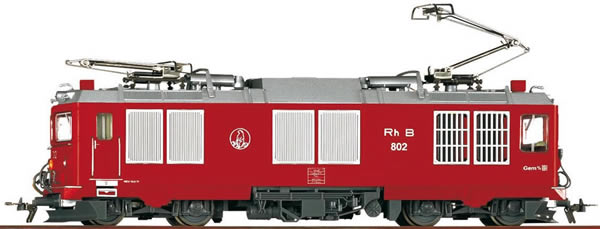Bemo 1267102 - Swiss Electric Locomotive Gem 4/4 802 Murmeltier of the RHB