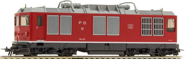 Bemo 1267200 - Swiss Diesel Locomotive Reihe HGm 4/4 of the FO