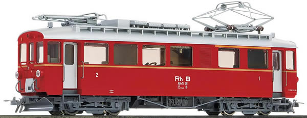 Bemo 1268136 - Swiss Electric Railcar Abe 4/4 36 Bernina of the RHB