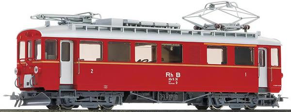Bemo 1268136 - Swiss Electric Railcar Abe 4/4 36 Bernina of the RHB