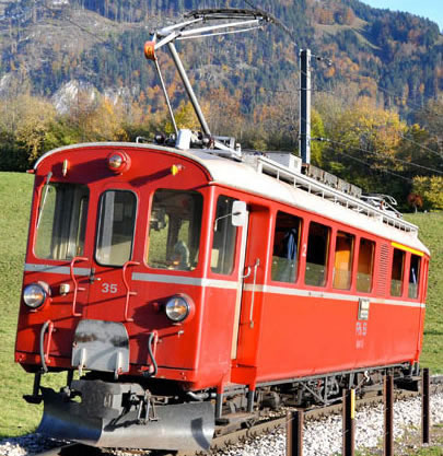 Bemo 1268605 - Swiss Electric Railcar Reihe ABe 4/4