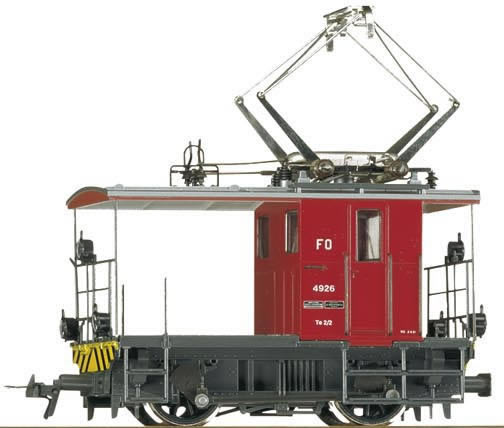 Bemo 1271216 - Swiss Electric Shunting Locomotive FO Te 2/2 4926