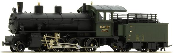 Bemo 1290127 - Swiss Steam Locomotive G 4/5 of the RhB
