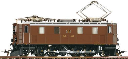Bemo 1291113 - Swiss Electric Locomotive Ge 4/6 353 of the RHB